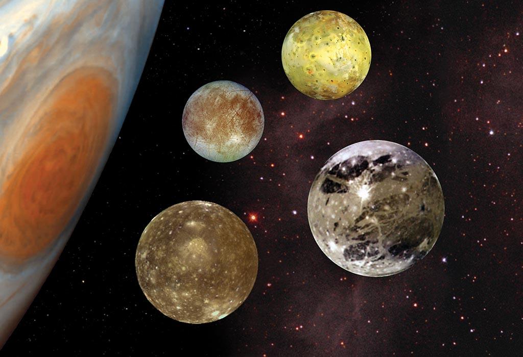 Bulan-Bulan Galilea Terbesar di Planet Jupiter